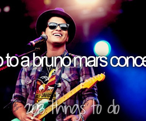 bruno mars, before i die, and concert image