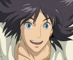 anime, Howl, and howl's moving castle image