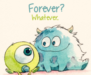 cute, disney, and monsters inc image