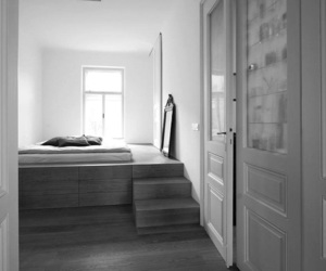 architecture, art, and bedroom image