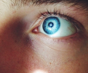 blue, boy, and eye image