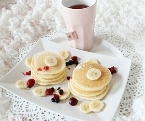 breakfast, delicious, and pancakes image