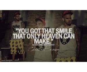chris brown, quote, and tumblr image