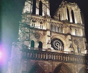 famous places, france, and Notre Dame de Paris image