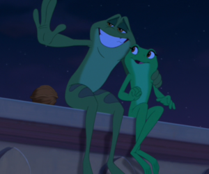 frog, prince, and the Princess and the frog image