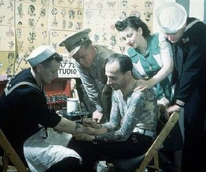 old school, Tattoos, and sailor image