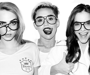 miley cyrus, girl, and barbara palvin image