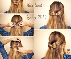 step by step, hair tutorial, and tutorial image