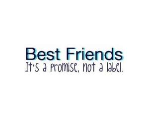 promise, best friends, and love image
