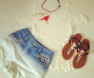 fashion, clothes, and jeans image