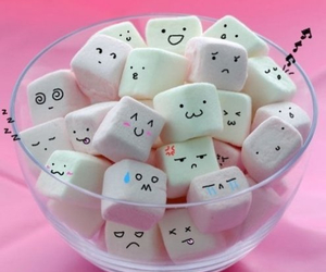 faces, adorable, and marshmellow image