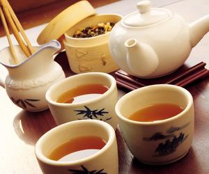 teas, tea, and warm image