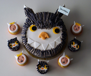 cupcakes, where the wild things are, and cake image