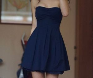 dress, outfit, and girl image