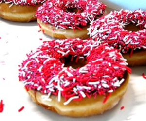 delicious, donuts, and food image
