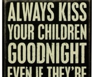 child, kiss, and love image