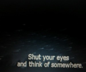 grunge, quote, and eyes image