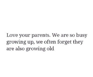 quote, parents, and love image