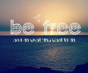 free, sea, and quote image