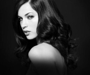 alexis knapp and black and white image