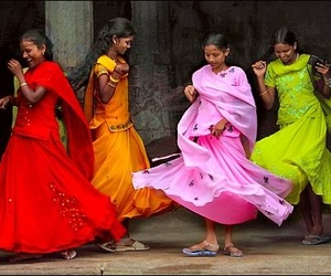 dancing, india, and indian image