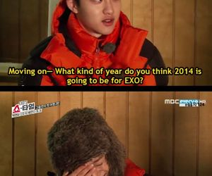 Chen, talk show, and kyungsoo image