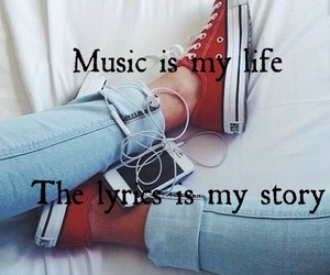 music, life, and story image