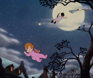 disney, peter pan, and neverland image