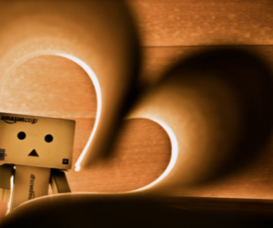 danbo and heart image