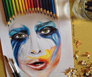 drawing, applause, and art image