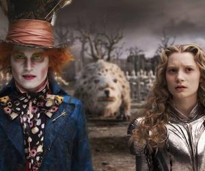 alice, alice in wonderland, and movie image