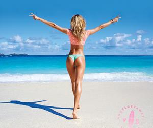 angel, beach, and candice image