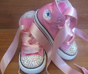 pink, baby, and shoes image