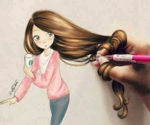 amazing, draw, and fashion image