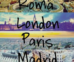 madrid, london, and paris image