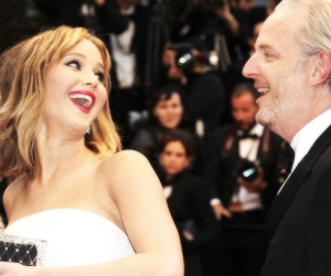 Jennifer Lawrence, the hunger games, and liam hemsworth image