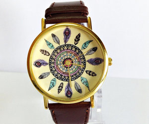 watch, jewelry, and dream catcher image