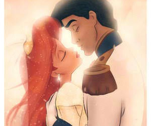 disney, kiss, and true love image