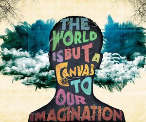 art, imagination, and quote image