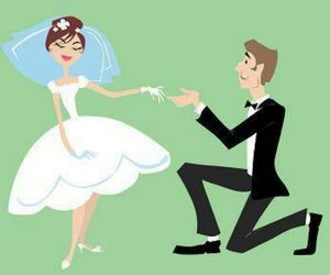 gorgeous, I DO, and marriage image