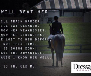 beat, horse, and dressage image