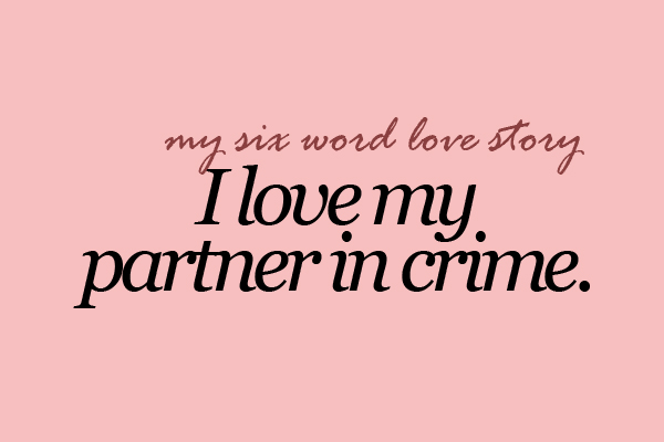 Partner In Crime Shared By Sabrina On We Heart It