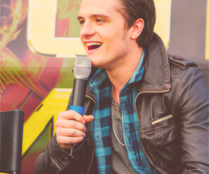 the hunger games, hunger games, and josh hutcherson image