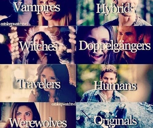 doppelgangers, series, and Vampire Diaries image