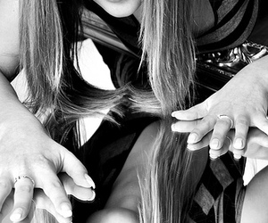 eyes, hair, and hands image