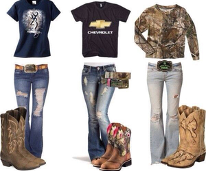 country, boots, and camo image