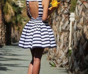 brunette, dress, and fashion image