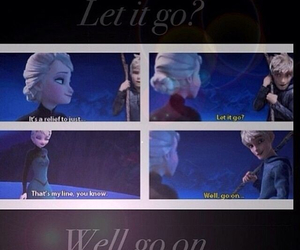 boyfriend, jack frost, and let it go image