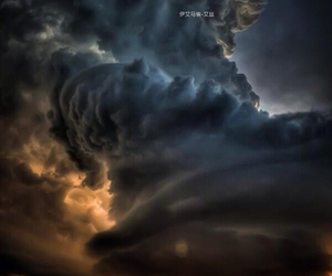 beautiful, house, and storm image