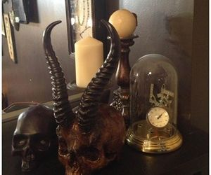 art, awesome, and skull image